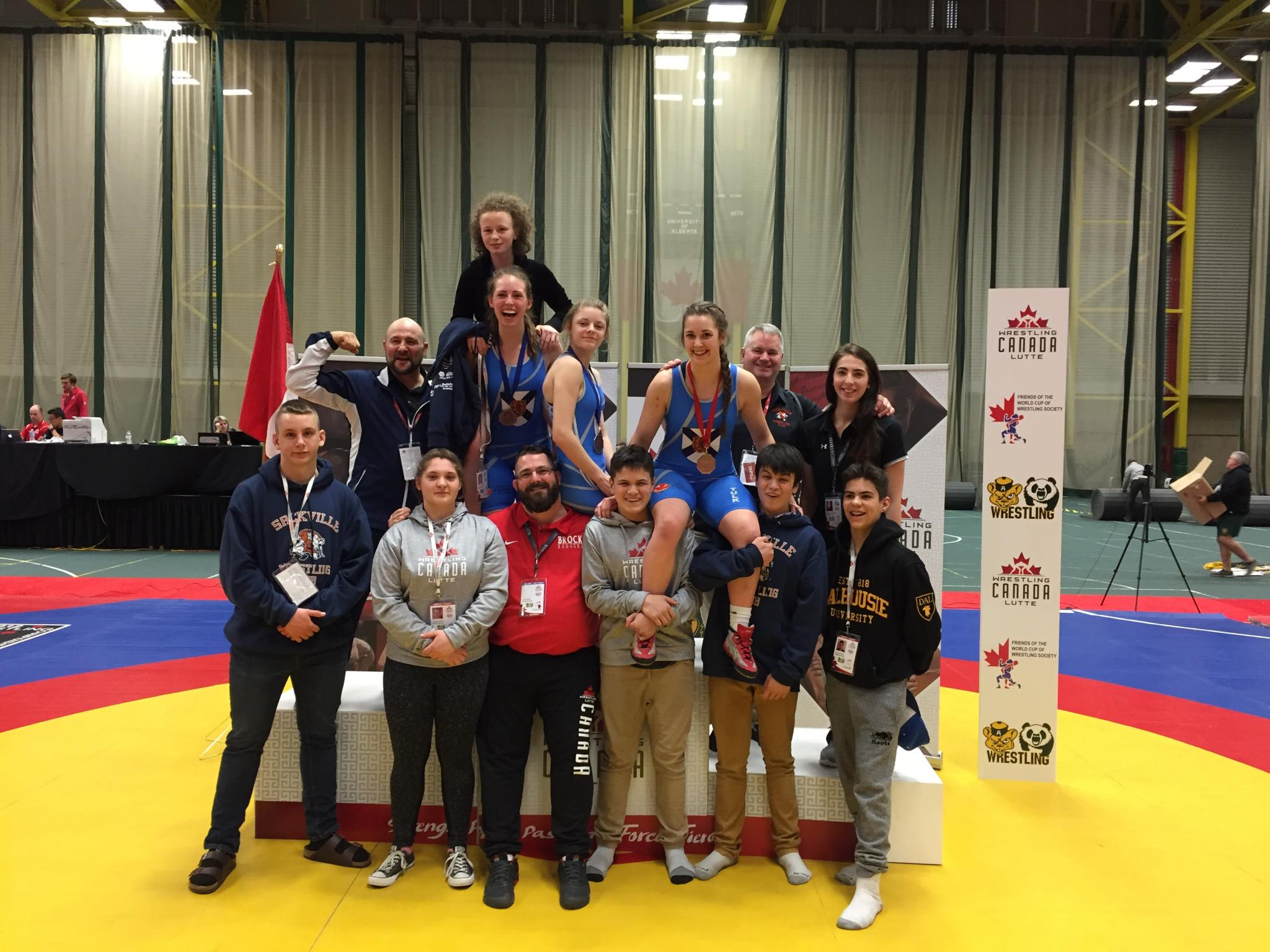Sackville Team at 2018 Nationals